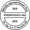 Officially approved Porsche Club 253
